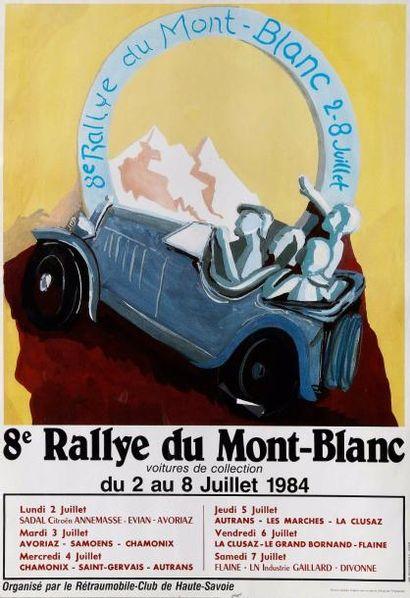 Bronze « Rallye du Mont-Blanc Bugatti » par...