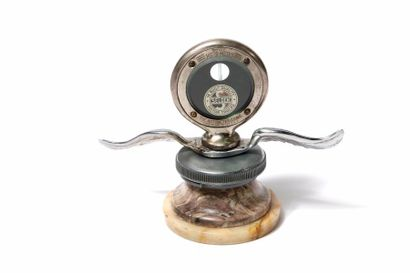 Motometer Selden Sur pied en marbre et son...