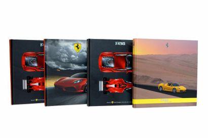 Lot de 4 livres sur la Ferrari F430, comprenant:...