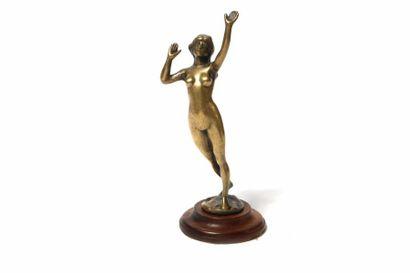 Le délire 1920-1925 Attribué à A. Ply Bronze...