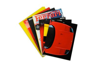 Year Book Ferrari F1 Lot de 7 en livres sur...