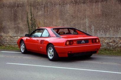 1990 - FERRARI MONDIAL T La plus intéressante et recherchée version T Une voiture...