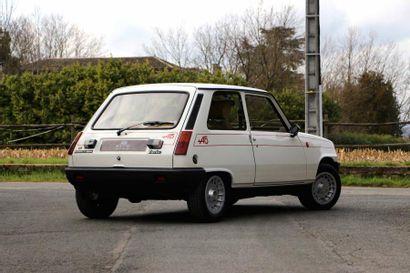 1982 - RENAULT 5 ALPINE TURBO La réponse de Renault à la Golf GTi Un youngtimer collector...