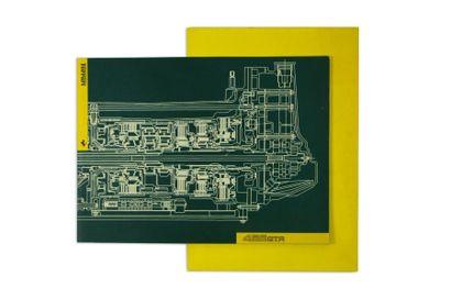 FERRARI 456 Lot de deux catalogues de présentation du modèle, comprenant: - Le dossier...