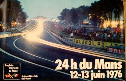 24 Heures du Mans 1976 Affiche. Impression...
