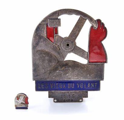 «Les Vieux du Volant 1915» - Badge Roger...