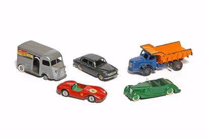 SOLIDO/JRD/DINKY TOYS MECCANO