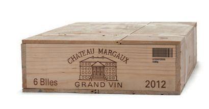 6 B CHÂTEAU MARGAUX (Caisse Bois) GCC1 Margaux...