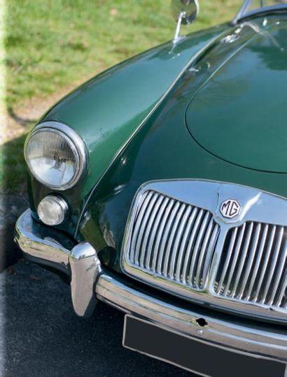 1960 - MG A 1600 ROADSTER Chassis: GHNL80925 Carte grise française Ligne élégante...