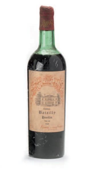 1 B CHÂTEAU BATAILLEY M.E c.a. GCC5 Pauillac...