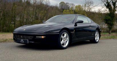 1995 - Ferrari 456 GT N° de châssis: ZFFSD44B000099370 Carte grise française Kilométrage:...
