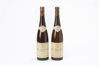 2 BOUTEILLES CLOS SAINT-URBAIN Alsace Grand...