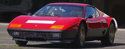 1978 FERRARI BB512 Châssis n° 24915 Moteur n° F102B000*00300* Carte grise française...