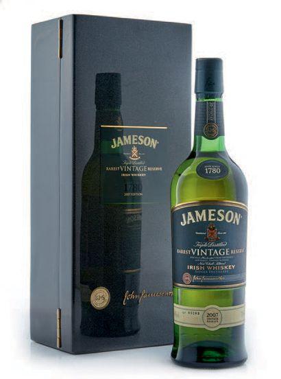 1 ECOSSE JAMESON RAREST VINTAGE Reserve bouteille...
