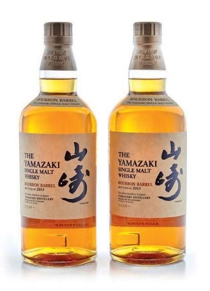 2 JAPON YAMAZAKI BOURBON BARREL OFFICIEL...