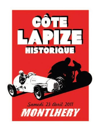 ANTOINE PASCAL Côte Lapize Historique 2011 sérigraphie réalisée à la main par l'artiste,...
