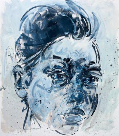 Philippe PASQUA (né en 1965) Stella, 2012 Huile sur toile, signée au dos 220 x 250...