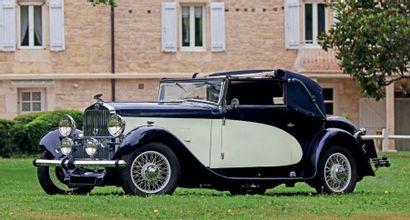 1933 - DELAGE D6-11 CABRIOLET MYLORD CAROSSERIE LETOURNEUR & MARCHAND