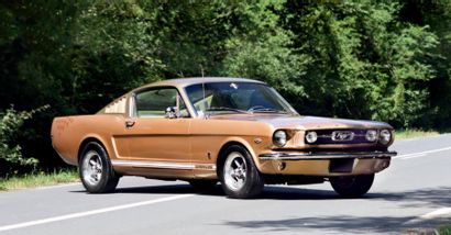 1966 - FORD MUSTANG FASTBACK K-CODE