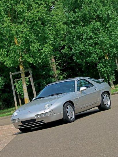 1991 - PORSCHE 928 GT EX JOHNNY HALLYDAY