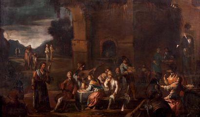 Ecole de l'Italie du NORD du XVIIe siècle