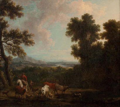 École Anglaise vers 1750