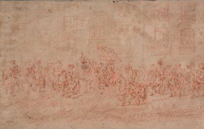 Ecole française du XVIIIe siècle, suiveur de Van der Meulen