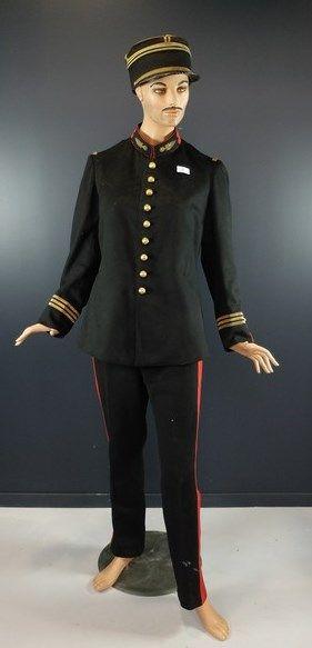 Mannequin de Capitaine de l'Artillerie:...