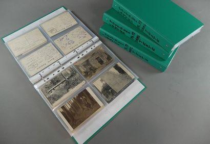 Lot de 640 environ cartes postales diver...