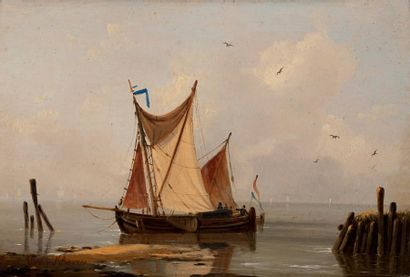 LOUIS VERBOECKHOVEN (WARNETON 1802 - BRUXELLES 1889)