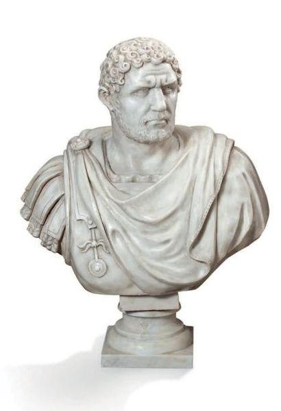BUSTE DE L'EMPEREUR CARACALLA (Marcus Aurelius...