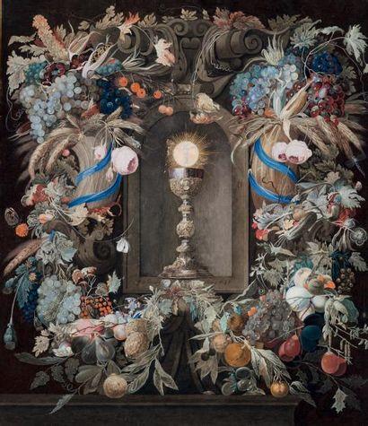 ÉCOLE ALLEMANDE VERS 1700-1720, SUIVEUR DE JAN DAVIDSZ DE HEEM
