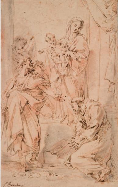 ÉCOLE FRANÇAISE du XVIIIe siècle, suiveur de François BOUCHER
