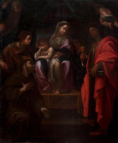 Attribué à Ludovico CARRACHE (1555-1619)