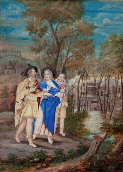 École FLAMANDE de la fin du XVIIe siècle