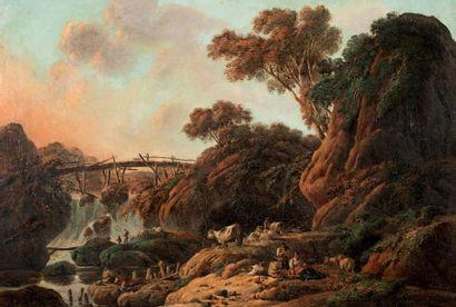 Attribué à Jean PILLEMENT (1728-1808)