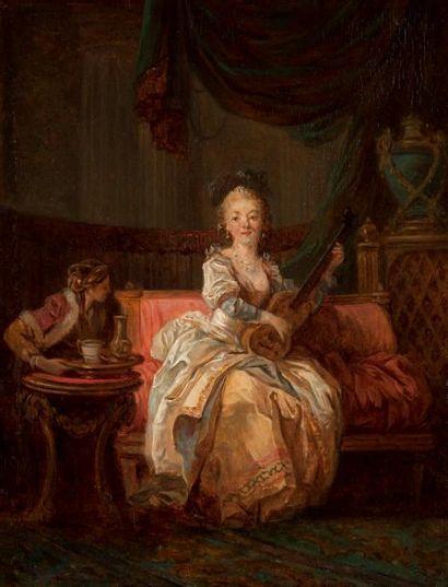Attribué à Jean Baptiste LEPRINCE (1734-1781)