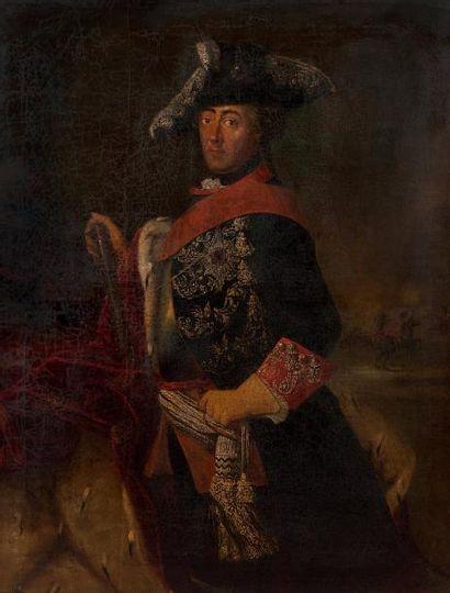 ÉCOLE ALLEMANDE DU XVIIIE SIÈCLE, SUIVEUR D'ANTOINE PESNE