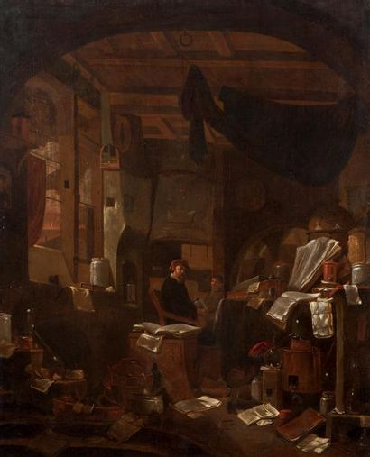 THOMAS WYCK (BEVERWIJK VERS 1624 - HAARLEM 1677)
