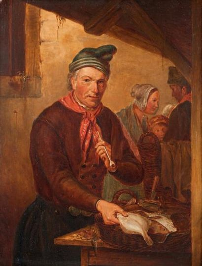 JACOB AKKERSDIJK (ROTTERDAM 1815-1862)