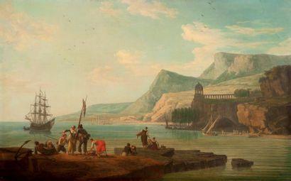 ÉCOLE FRANÇAISE DE LA FIN DU XVIIIE SIÈCLE, ENTOURAGE DE JEAN.FRANÇOIS HUE