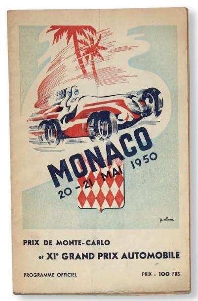 GRAND PRIX DE MONACO Programme officiel de...