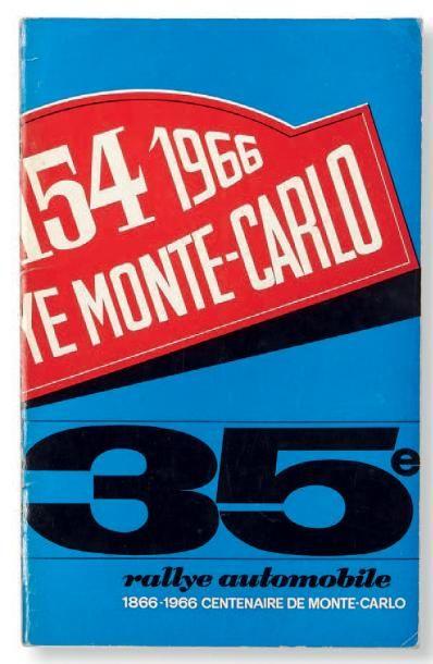 RALLYE DE MONTE-CARLO Programme officiel...