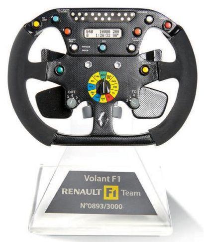 RENAULT F1 TEAM Volant de Formule 1 miniature...
