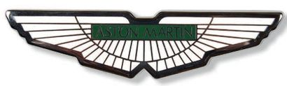 ASTON MARTIN Badge en métal émaillé Très...