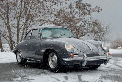 1962 - PORSCHE 356 BT6 1600