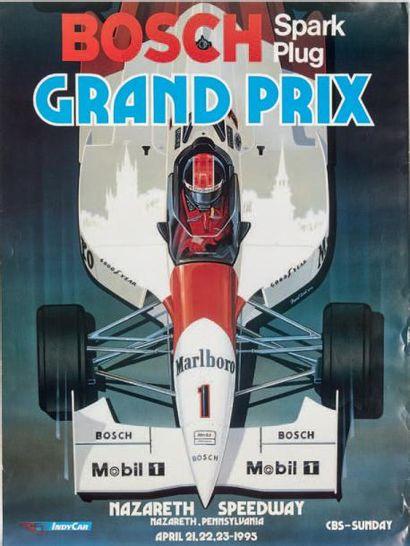 GP DES AMERIQUES Lot de 7 affiches originales:...
