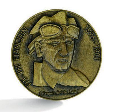 Philippe ETANCELIN Médaille en bronze commémorative...