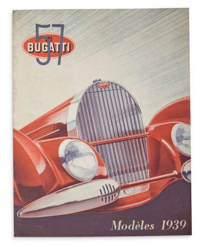 BUGATTI Dépliant 2 volets présentant la gamme...
