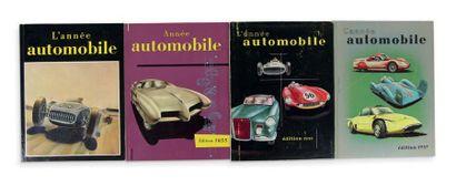 L'ANNEE AUTOMOBILE Collection complète du...